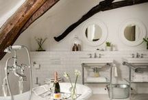 BATHROOM IDEAS / Bathroom inspiration board by StyleRarebit.com