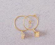 • Collection Mini Fosseth • / Retrouvez désormais les formes emblématiques de Fosseth en version miniature et 100% dorées à l'or fin 24 carats. #bijoux #orfin #createur #francais #minifosseth #new #fw1718