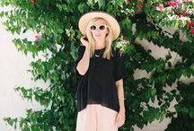 Spring and Summer Style / Spring and summer style and sewing inspiration.