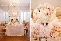 Wedding :: Navy, Pink & Glitter / Virginia