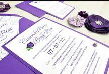 purple & green wedding / by Adori Designs