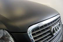 Audi A8 - black matt