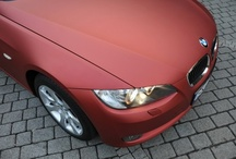 BMW 3 Cabrio - Red Aluminium