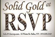 """RSVP Solid Gold Night / Join fellow elite every Wednesday evening at Soho's new celebrity hotspot, RSVP, for our """"Solid Gold"""" night where upscale dining, cocktail specials, industry professionals, and entertainment create an unparalleled atmosphere with the highest caliber of hospitality service."""