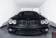 Mercedes SL - black matt