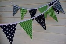 Banner Bonanza / Includes garlands, pennants and buntings too. / by Sarah Hedges