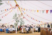 BUNTING AND FLAGS / Inspiring, beautiful bunting for your event.