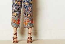 Wild About Pants / So many styles, shapes and fabrics - pants for every age and body shape!