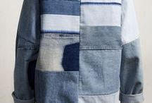 Denim Dream / Denim is everywhere in the fashion world. We love working with this easy fabric. Ideas and inspiration for using denim in your sewing projects!