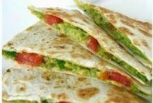Mexican Food / Mexican Food - Tacos - Quesadillas - Tortillas - Enchiladas
