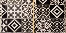 Black & White Fashion and Fabric Inspiration / Black and White fashion and fabric inspiration for making The Sewing Workshop patterns.