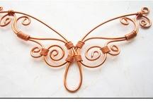 Wire jewelry idea / by Céline Van-Overstracten