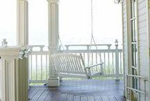 Home sweet home: porch/deck/veranda
