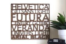 Typography / by Greentea Design