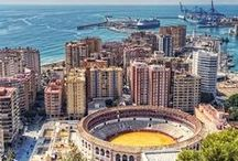 Malaga / The sixth largest city in Spain and home to Picasso, sunny Malaga is a truly inspirational city.