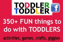 Toddler Games and Activities / Fun Toddler Activities and Games to do with parents, relatives, caretakers, and in daycares.  / by Toddler Toddler Activities, Games, Giggles