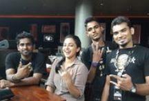 STARS AT HARD ROCK CAFE INDIA
