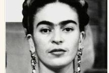 Frida Kahlo / Te idolatro! / by Daniel Tate