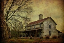 Abandoned Abodes and Places! / Deserted, relinquished, vacated, neglected, forsaken ~ yet not forgotten. / by KJ Giardino
