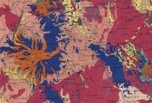 Cartes géologiques / Plusieurs centaines de cartes géologiques, issues des collections du département des Cartes et plans de la BnF, sont consultables dans Gallica : http://bit.ly/VmzyBu / Several hundred geological maps are available in Gallica : http://bit.ly/VmzyBu