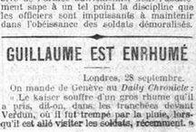 A la une il y a 100 ans... / Gallica explore les collections de presse quotidienne numérisée et sélectionne chaque jour un article publié il y a 100 ans... / par GallicaBnF