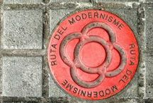 Ruta del Modernisme Barcelona / A route which takes you on a tour of Barcelona through the works of Gaudí, Domènech i Muntaner, Puig i Cadafalch and many more architects which put Barcelona at the forefront of the Catalan Art Nouveau movement