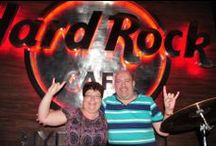 Sian & Stan Dayne visit / True Hard Rock fans – Sian & Stan Dayne visited us recently at HRC Hyderabad. The sweet duo is a die-hard fan of Hard Rock Cafes around the globe and has visited at least 130 cafés till date and say that HRC Hyderabad has been their most favorite. Sian & Stan wish to explore all the Indian Hard Rock Cafes too!