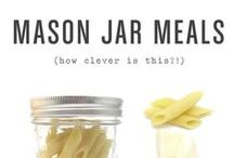 Put a Lid on It! Mason Jar Meals & Gifts / Gifts & Meals in Mason Jars - portable, tasty & fun!