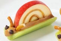 Snack Ideas for Kids / A collection of pins to help you prepare creative and healthy snack ideas your kids will love.