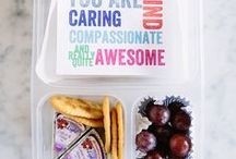 Just: Kids Lunches / kids lunch ideas, Lunch notes, jokes, special ideas to add to fun and encouragement to the lunch boc
