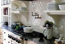 In The Home - Kitchens / by Christina Dutkovic