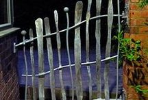 gates, doors and fences / by John/Kim Fox