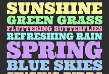 Seasonal - Spring - Crafts/Decore, etc. / by Christina Dutkovic