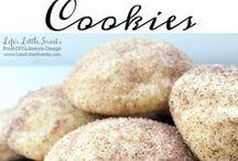 Food: Cookies: Misc & Christmas