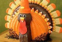 Thanksgiving & Fall  / by Sheryl Kneebone