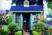 Backyard /                     Make Your Backyard a Destination. Gates, Paths, Fire Pits, Patios, Garden Sheds, Play Houses, Fountains, Outdoor Showers,