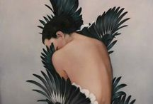 Inspiration // Artwork + Illustrations / Samples of paintings, illustrations, drawings