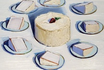 wayne thiebaud / by Molly Watt-stokes