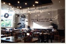 Cafe\Restaurant  &  Store 咖啡館\商店 / by ader Lee