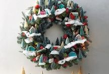 Holidays: Christmas wreaths and doors