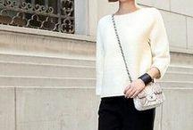 Fashionette wears white