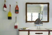 Let's Get Nautical / Nautical home design.