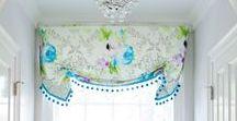 House: Curtains & Fabric choices / Curtain Tutorials, Curtain ideas, Drape ideas, Window decor