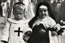 Yes to Halloween / Halloween costume inspiration by nuns and vampires