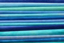Blue & Green  (Cobalt & Aqua)