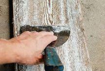 Crafty: Reclaimed wood