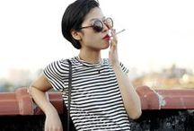Short haircut outfit styles