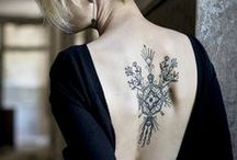 Tattoo is... / Wear your heart on your skin in this life_ Sylvia Plath