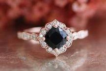 Engagement Rings / sophisticated, understated, feminine engagement rings