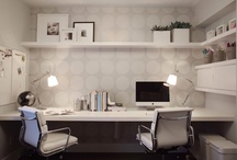 Home Office + Workspaces / Our home office + workspace ideas come from our Home Show Displays, Exhibitors, Show Sponsors, Friends & Followers. Get cabinet, storage, desk ideas & more here!
